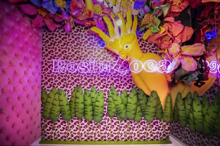 cartel interior restaurante Rosi La Loca Madrid