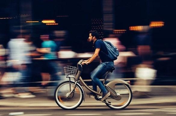 bicicleta velocidad urbana