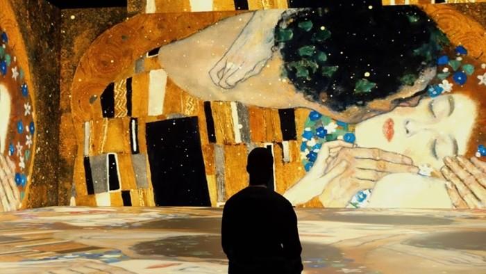 """Exposición """"El Oro de Klimt"""": otra forma de contemplar el arte"""