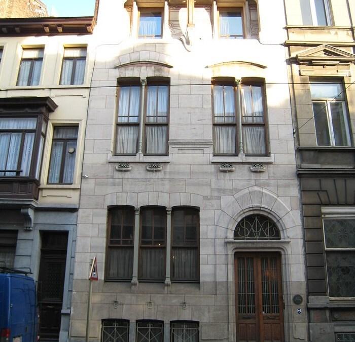 Casa Autrique, la primera casa construida por Víctor Horta