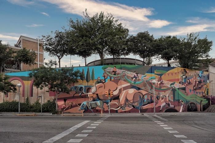 B-MURALS Centre d'Art Urbà presenta TIME