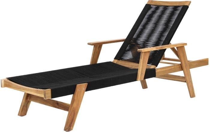 mobiliario negro madera