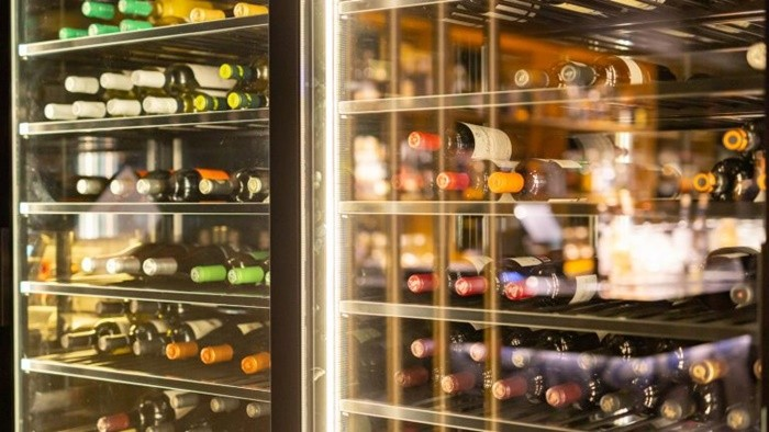 refrigerador vinos almacenaje blanco tinto rosado