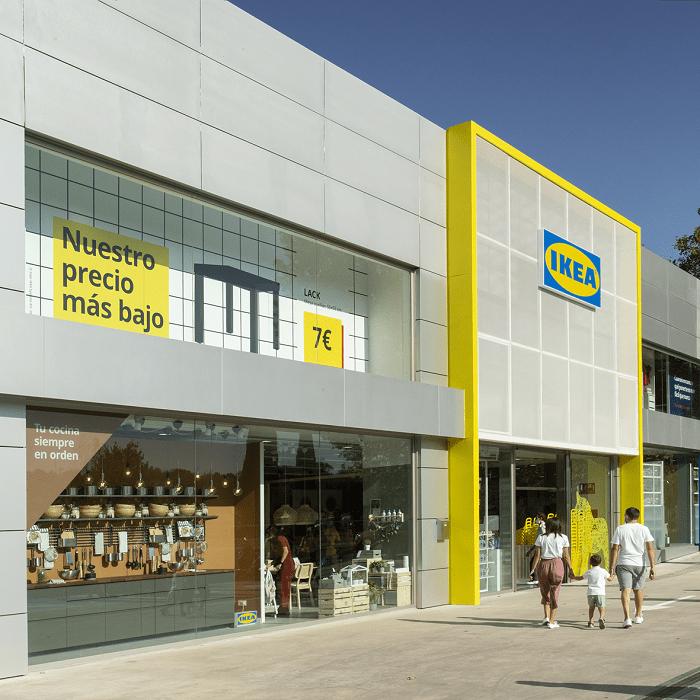Fachada de la nueva tienda IKEA en Las Rozas de Madrid
