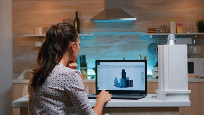 Para llegar a la arquitectura 360 grados fue necesario pasar por la herramienta CAD