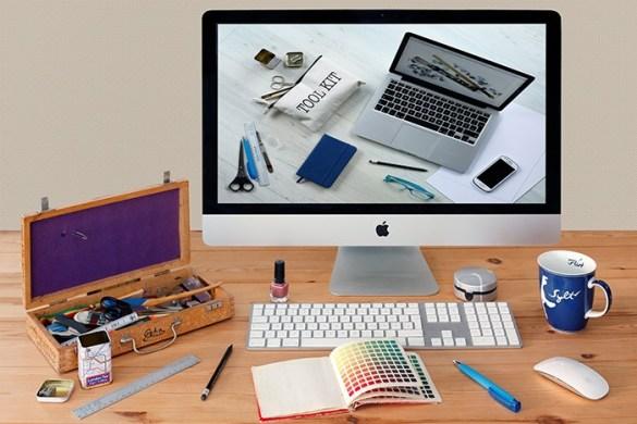 ordenador y curso diseño grafico