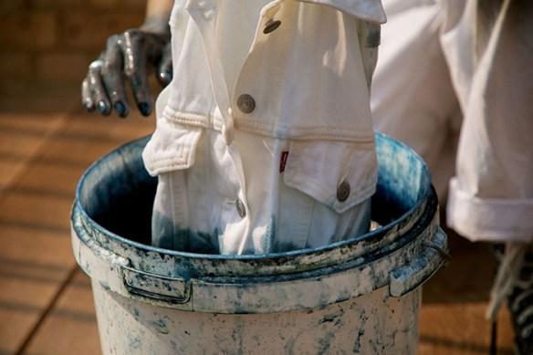 teñido ropa sostenible levis