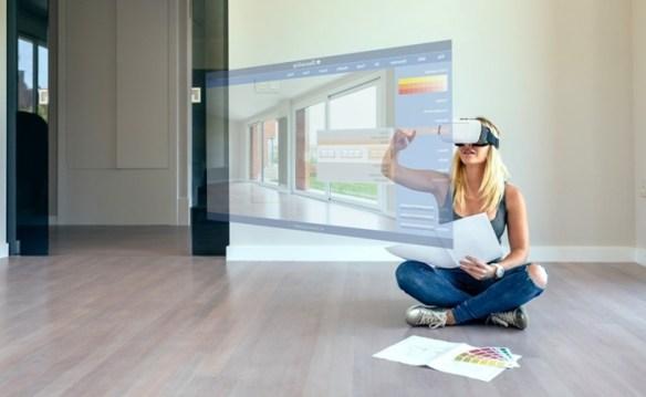 La arquitectura 360 grados permite mostrar los proyectos e interactuar con sus materiales