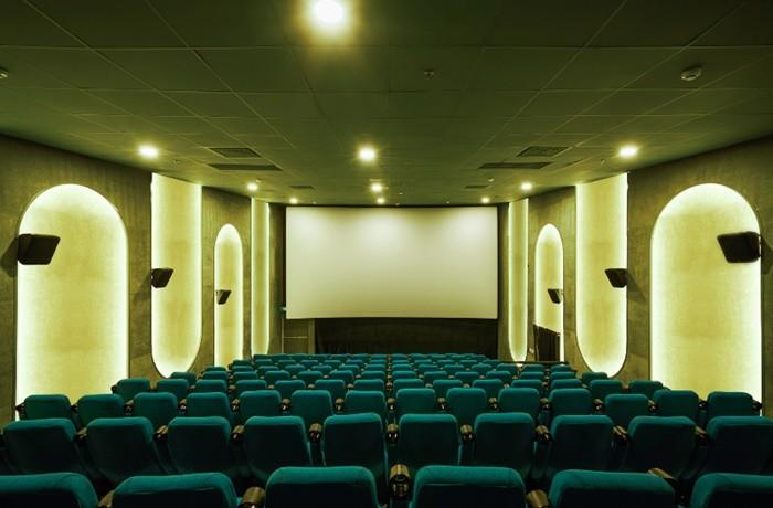 sala butacas verde