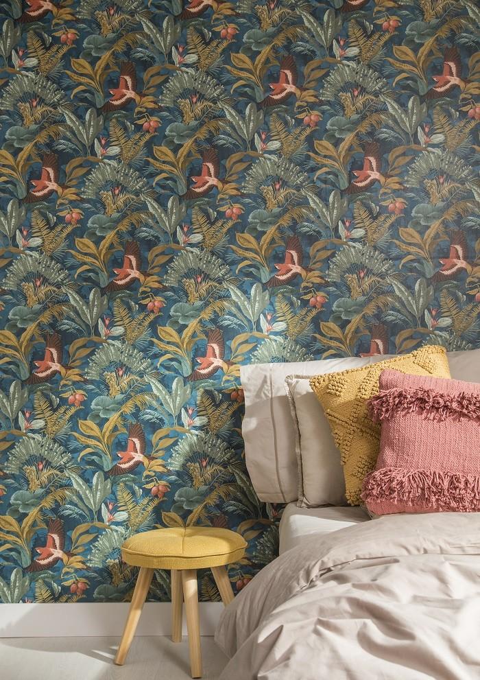decoracion-con-papel-pintado-de-Leroy-Merlin