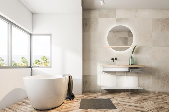 articulo pared baño