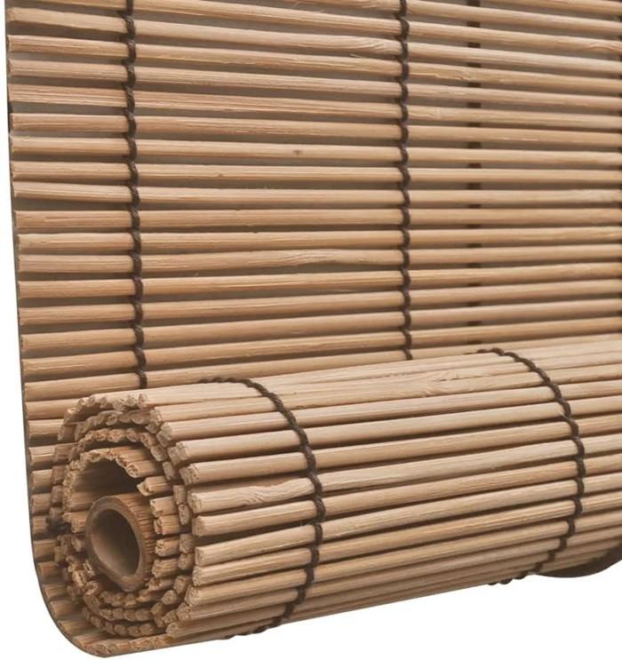 persiana bambu grueso natural