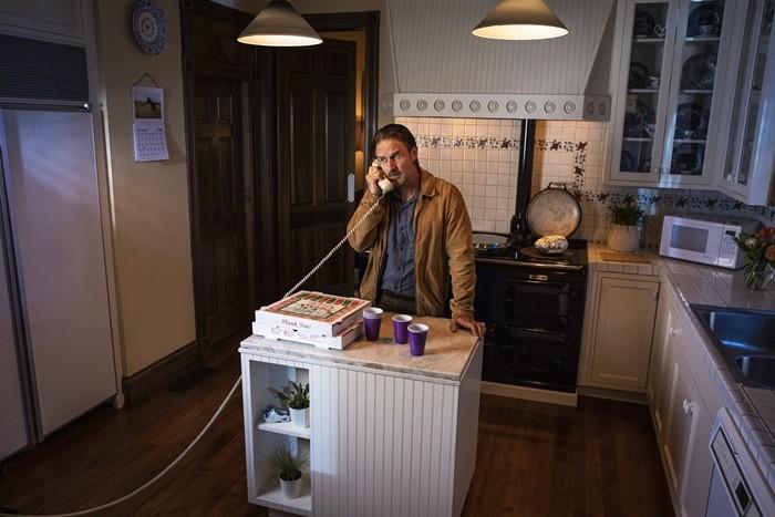 cocina telefono antiguo