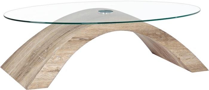 mesa curva cristal
