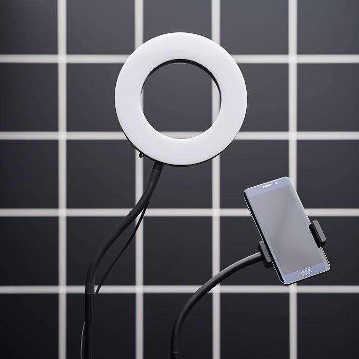 Luz y soporte cargador para gaming de ikea