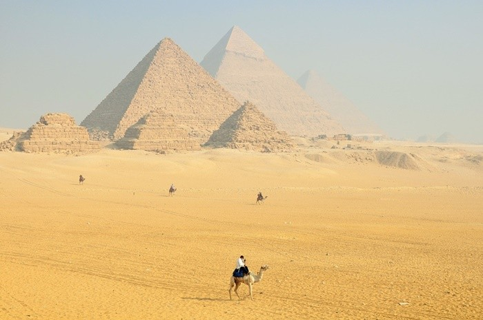 construcciones egipto piramides