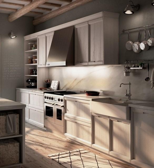 diseño de una cocina Rekker con muebles del modelo Bakea