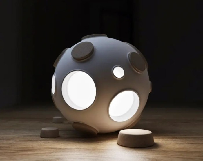 lampara hogar innovadora