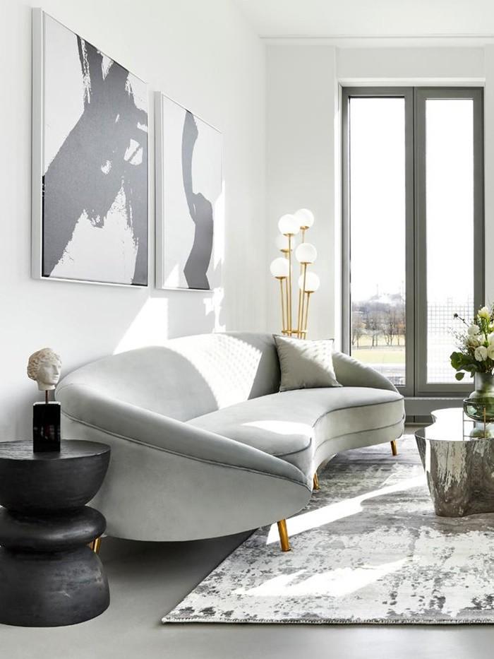 cuadros sillon lamparas decoracion