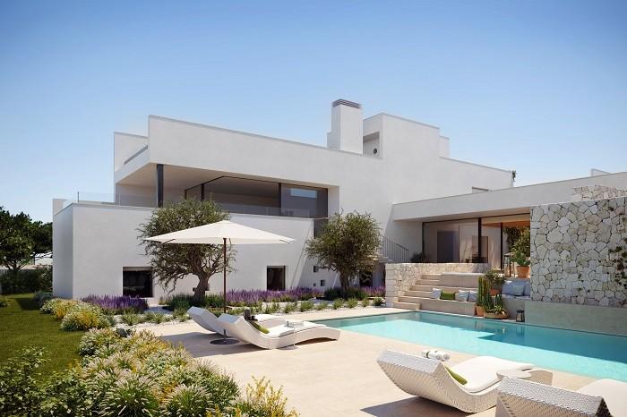 The White Angel, una edición limitada de 15 viviendas de lujo en la cala Comte (Ibiza)