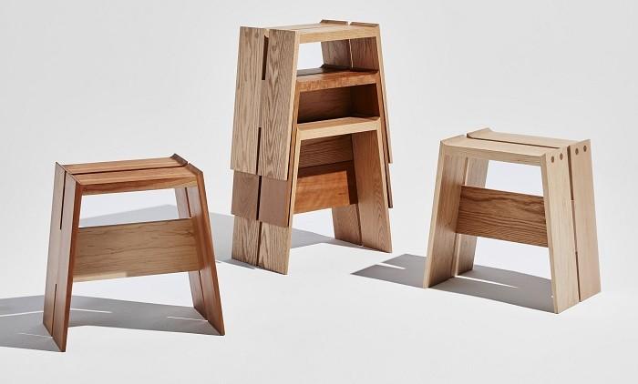diferentes diseños de banquetas en madera