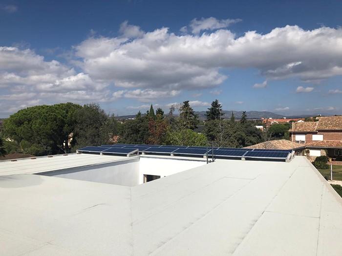 techo impermeabilizado