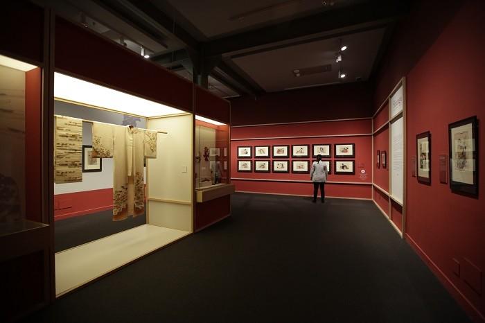 sala de exposición de cultura japonesa en Madrid