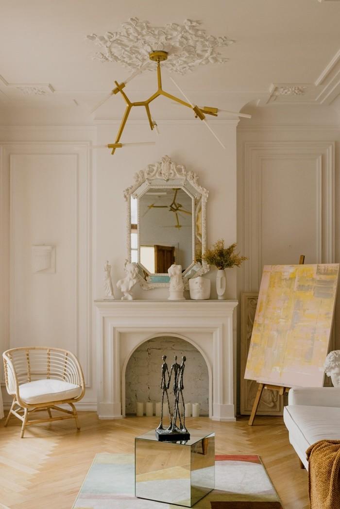 salon interior vintage