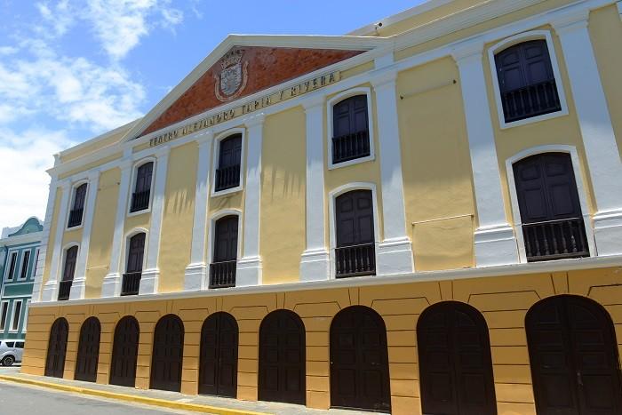 Teatro Tapia en San Juan, Puerto Rico