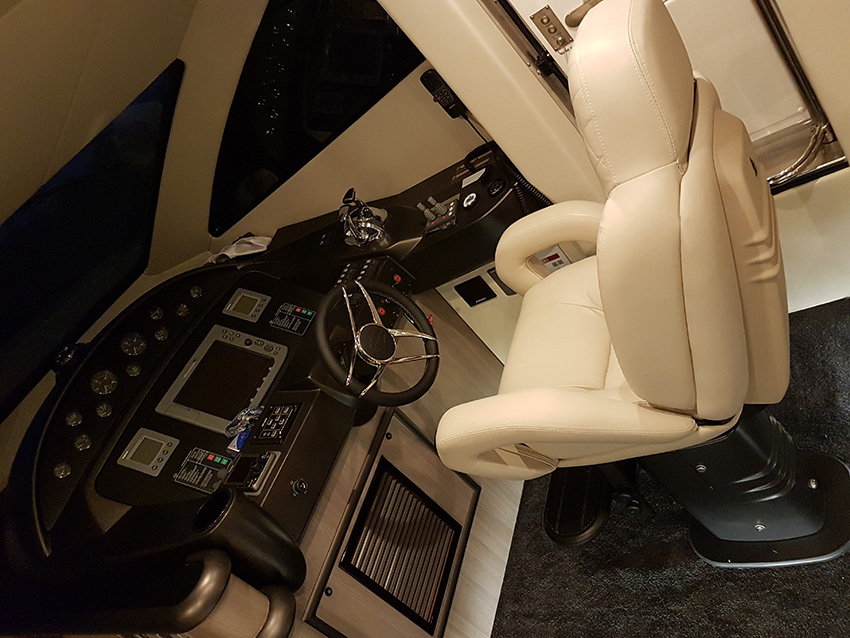 Yacht Helm with 3m Wrapping