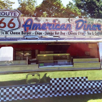 Airstream American Diner Signs