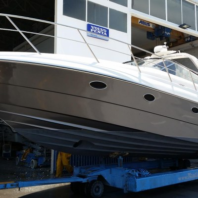 yacht hull wraps