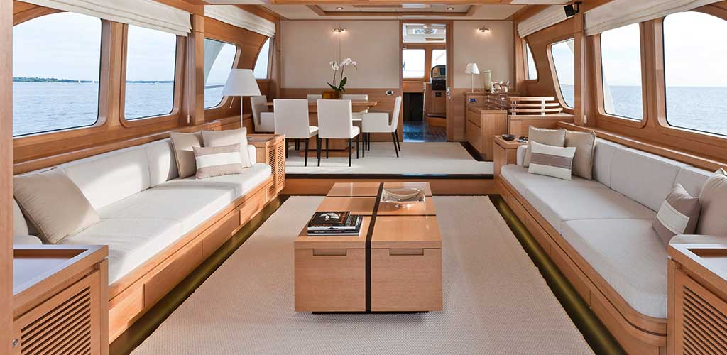 yacht interior wrapping