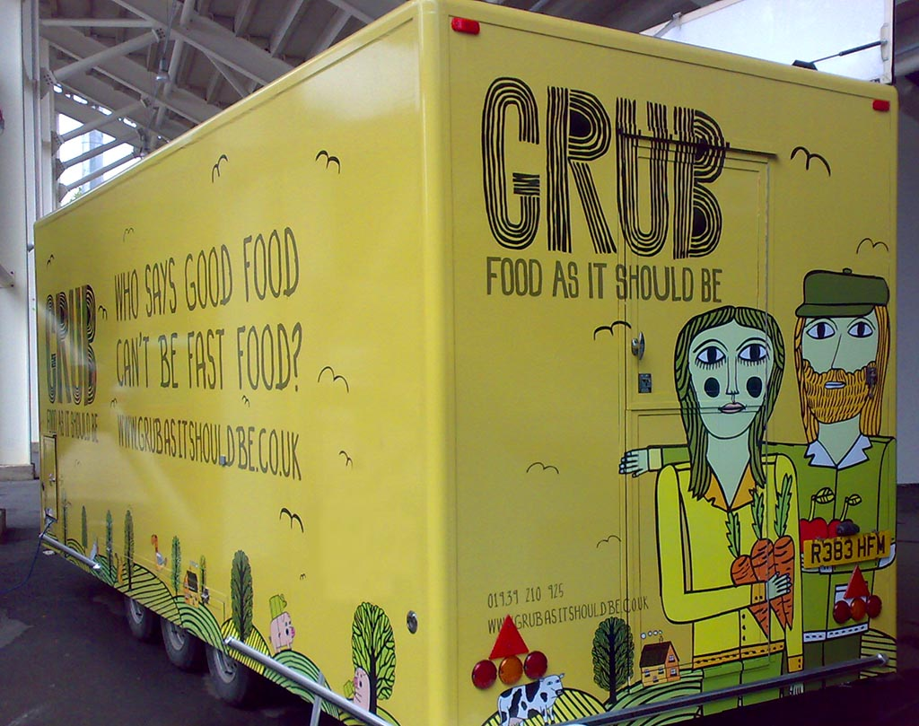 catering trailer wraps