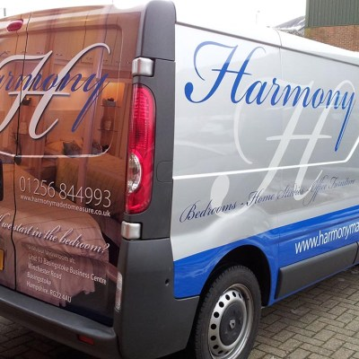 half wrap graphics london