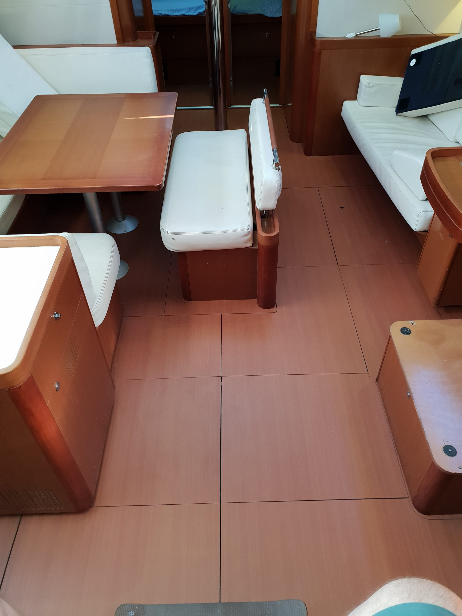 Yacht Cabin Floors Wrapped