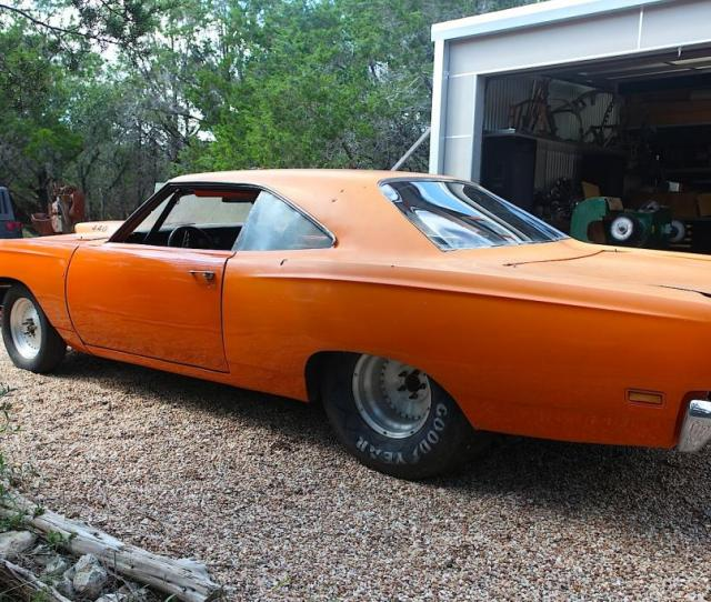 Jesse James 1969 Plymouth Road Runner