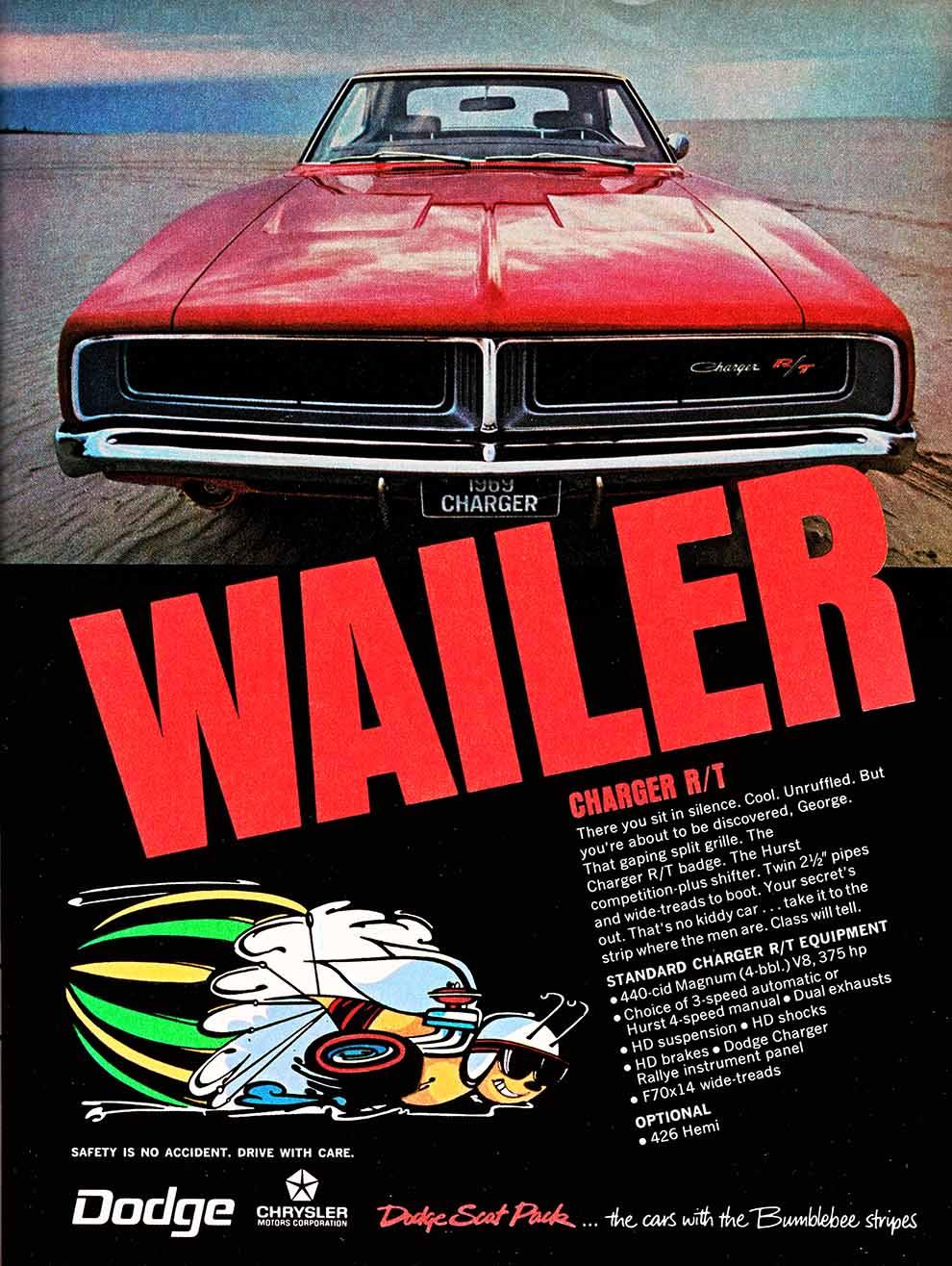 1968 70 Dodge Charger Ads Mopar Blog