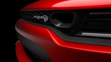 Photo of Dodge Teases New Charger SRT HELLCAT Front Fascia: