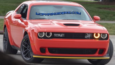 Photo of SPIED: 2019 Dodge Challenger SRT HELLCAT Widebody With New Spoiler?