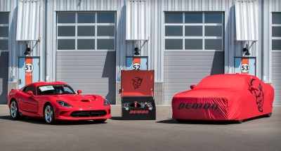 """The ultimate last chance"" 2017 VIper and 2018 Dodge Challenger SRT Demon (FCA Photo)"