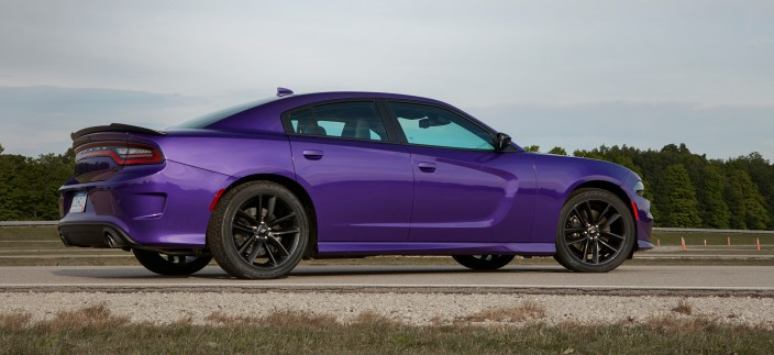 2019 Dodge Charger GT in Plum Crazy. (Dodge).