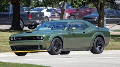 Photo of SPOTTED: 2019 Dodge Challenger R/T Scat Pack Widebody On The Street: