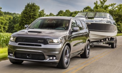 2019 Dodge Durango SRT. (Dodge)