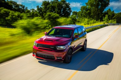 2019 Dodge Durango SRT. (Dodge).