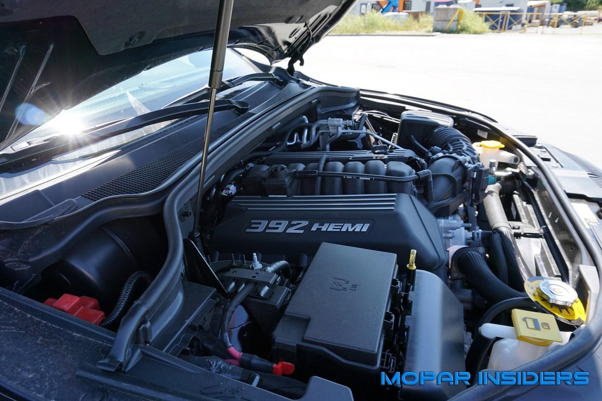 Durango SRT engine