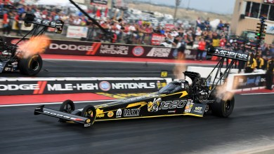 "Photo of The ""Angry Bee"" Returns For The Dodge NHRA Nationals:"