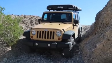 Photo of Well-Known YouTuber's Wrangler (JK) Catches Fire On The Trail: