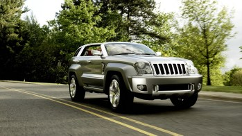 Jeep® Trailhawk Concept. (Jeep).