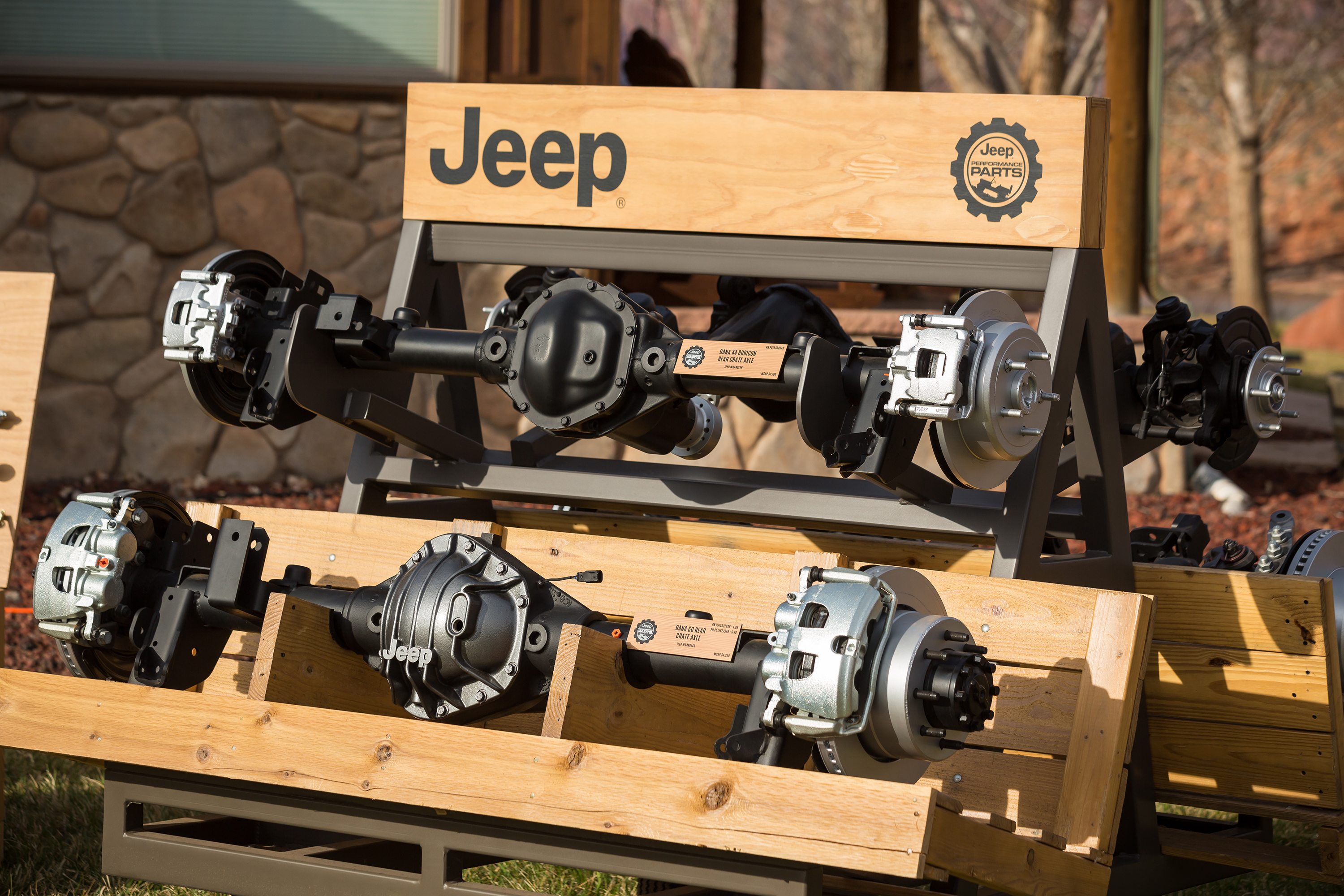 Mopar Announces New Performance Axles for All-new Jeep® Wrangler at